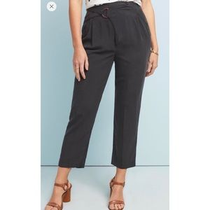 Anthropologie | Cupro Wrap Trousers